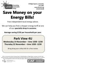 Free independent local energy advice.