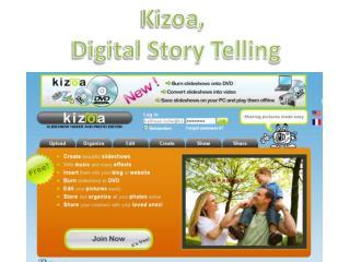 Kizoa ,  Digital Story Telling