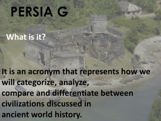 PERSIA G