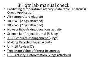 3 rd qtr  lab manual check