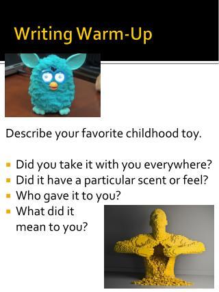 Writing Warm-Up