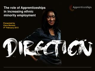 The role of Apprenticeships in increasing ethnic minority employment