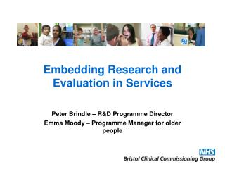 Embedding Research and Evaluation in Services