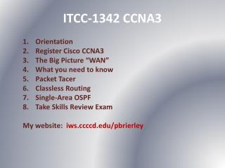 ITCC-1342 CCNA3