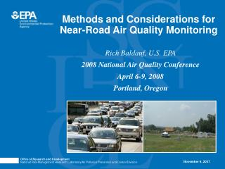 Methods and Considerations for Near-Road Air Quality Monitoring