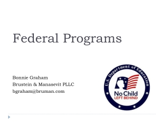 Homeless Assistance Program Grant Management Training Program Year 2011