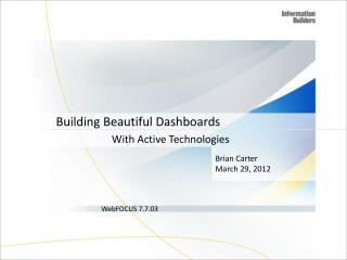 Building Beautiful Dashboards