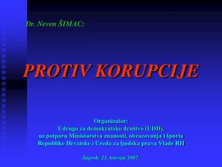 Dr. Neven  IMAC:
