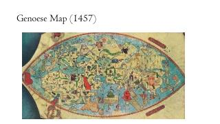 Genoese Map (1457)
