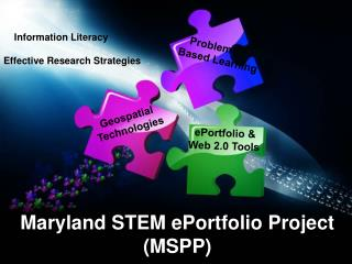 Maryland STEM  ePortfolio  Project (MSPP)