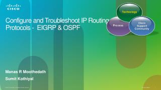 Configure and Troubleshoot IP Routing  Protocols -  EIGRP & OSPF
