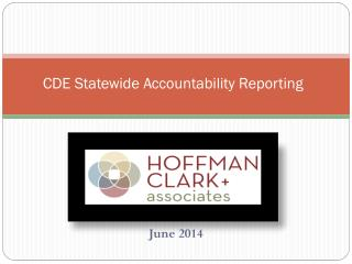 CDE Statewide Accountability Reporting