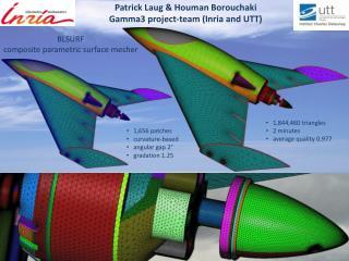 Patrick  Laug  &  Houman Borouchaki Gamma3  project -team ( Inria  and UTT)