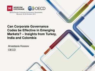 Anastasia Kossov OECD