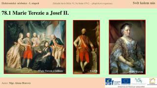 78.1 Marie Terezie a Josef II.