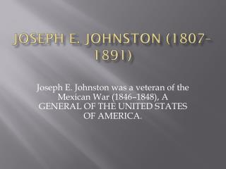 Joseph E. Johnston (1807–1891)