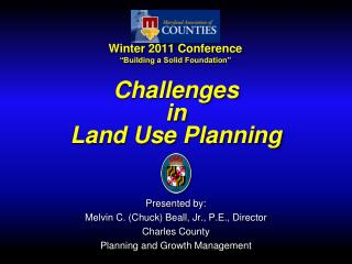 Challenges in Land Use Planning
