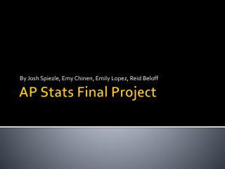 AP Stats Final Project