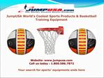 Basketball Accessories By JumpUSA