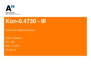 Kon-0.4730 - III