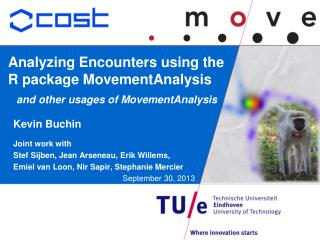 Analyzing Encounters using the R package  MovementAnalysis and other usages of  MovementAnalysis