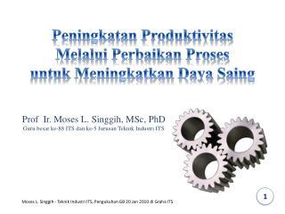 Peningkatan Produktivitas Melalui Perbaikan Proses untuk Meningkatkan Daya Saing