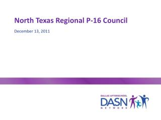 North Texas Regional P-16 Council