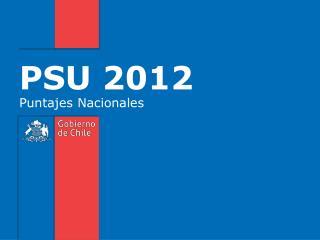 PSU 2012