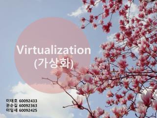Virtualization ( 가상화 )