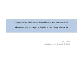 Lucia Melo Jo�o Pessoa, 19 de junho de 2013