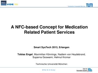 A NFC-based Concept for Medication Related Patient Services