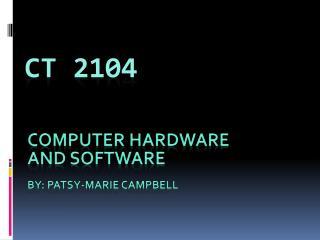 CT 2104