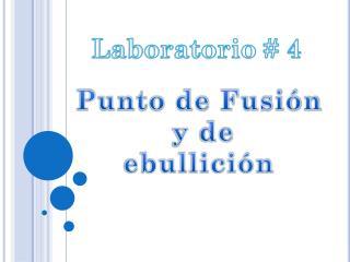 Laboratorio # 4