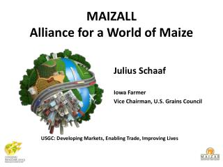 MAIZALL Alliance for a World of Maize