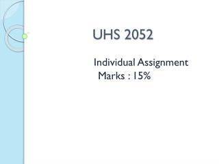 UHS 2052