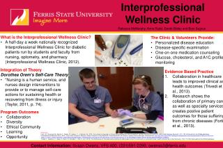 Interprofessional Wellness Clinic