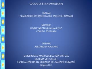 Código de Ética E mpresarial de Jones  Lang LaSalle
