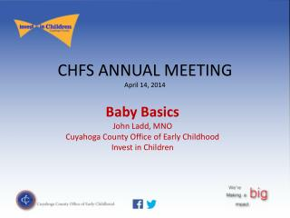 CHFS ANNUAL MEETING April 14, 2014