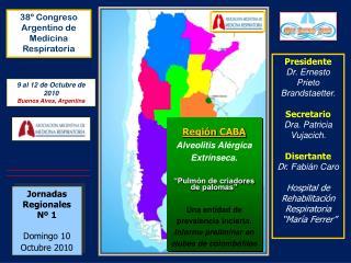Jornadas Regionales Nº 1 Domingo 10  Octubre 2010