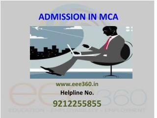 Admission in MCA