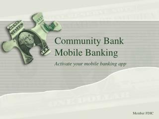 Community Bank Mobile Banking