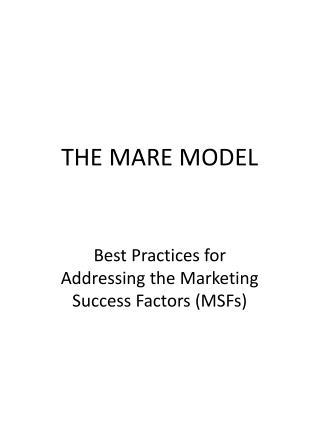 THE MARE MODEL