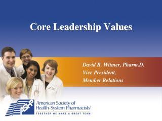 Core Leadership Values