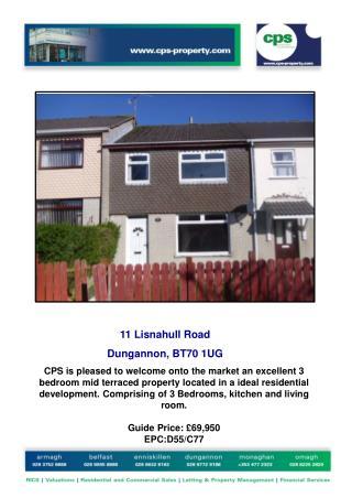 11  Lisnahull  Road Dungannon,  BT70 1UG
