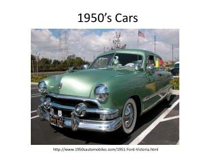 1950�s Cars