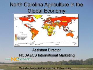 North Carolina Agriculture in the Global Economy