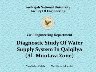 An- Najah  National University Faculty Of Engineering