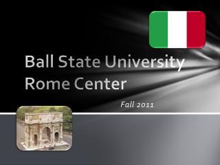 Ball State University  Rome Center