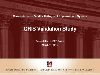 QRIS Validation  Study