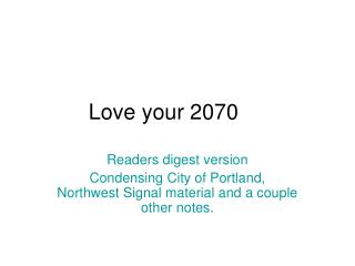 Love your 2070